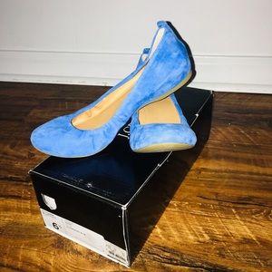 J. Crew Anya Suede Ballet Flats-Bloomsbury, sz 6.5